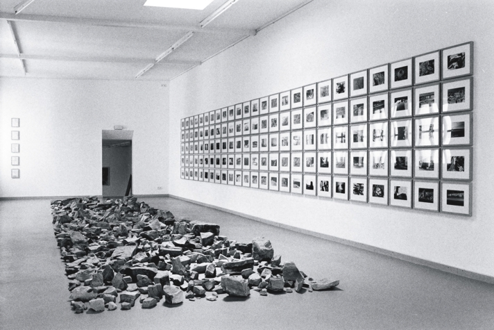 stonetimes, 1995-1998<br>125 black and white analogprints on toned Barytpaper, each 15,0 x 22,9 cm<br>	